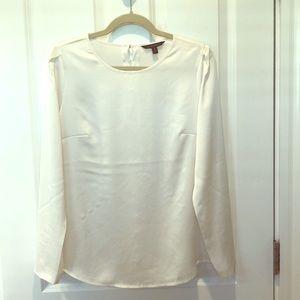 White BR blouse